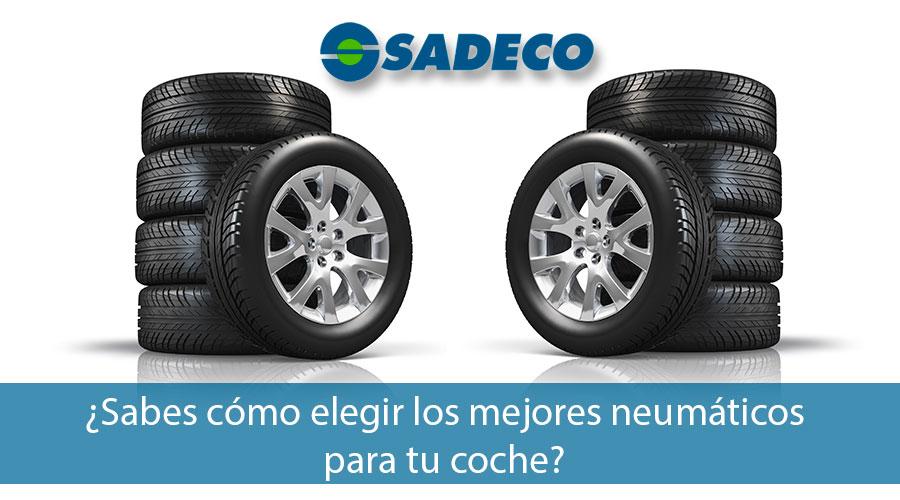 Cómo elegir los mejores neumáticos para tu coche