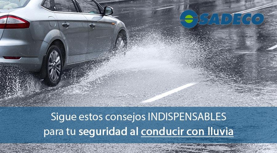 Cómo conducir bajo la lluvia con seguridad