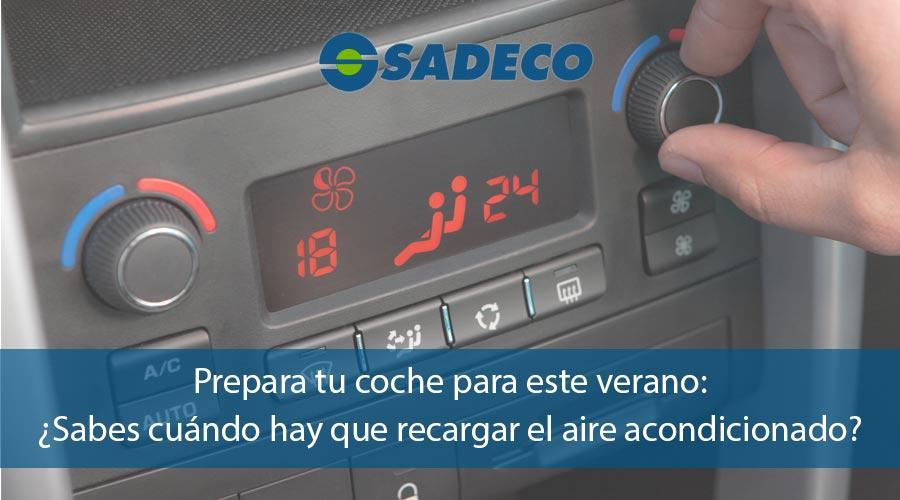 Cuándo recargar el aire acondicionado del coche