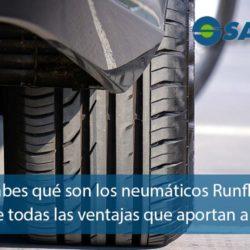 Qué son los neumáticos Runflat