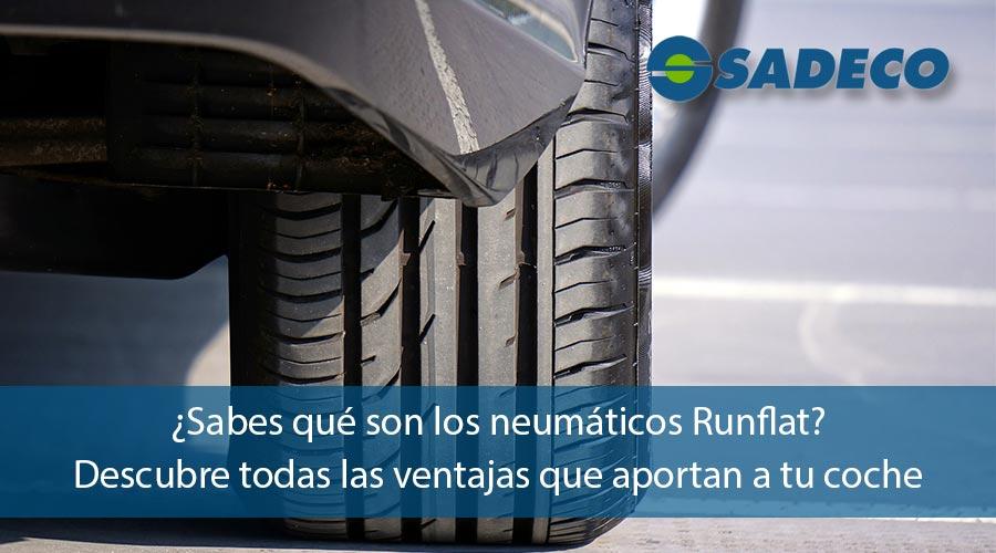 neumáticos runflat