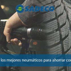 Neumáticos que ahorran combustible