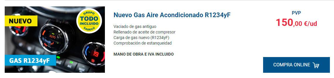 nuevo gas aire acondicionado