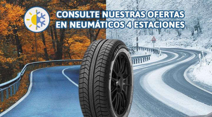 Ventajas de los neumáticos 4 estaciones