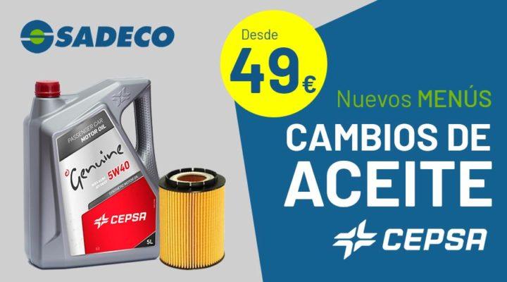 Nuevos cambios de aceite CEPSA
