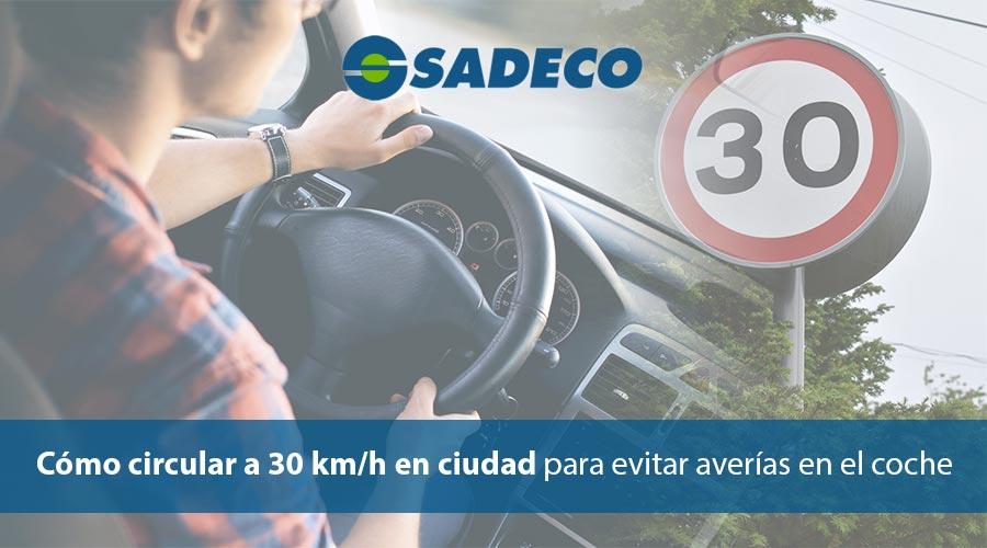 como circular a 30 km/h