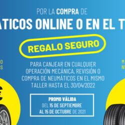 Regalo de hasta 20€ comprando tus neumáticos en Grupo Sadeco