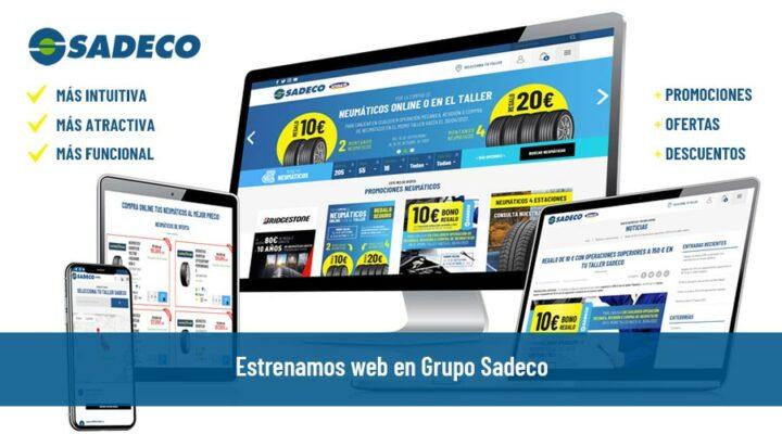 Grupo Sadeco lanza nueva web